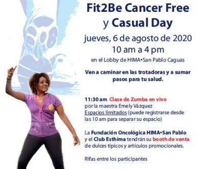 POSTER Fit2Be Cancer Free 2020
